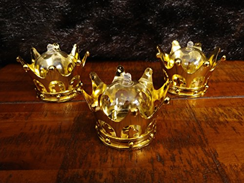 Dream's Gate Inc Dozen Candy Crown Container for Baby Shower for Kings and Queens. It's a Boy. It's a Girl. -