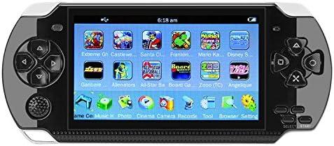 QUMOX 64Bit Consola de juegos de mano 4.3 pulgadas Built-in 650