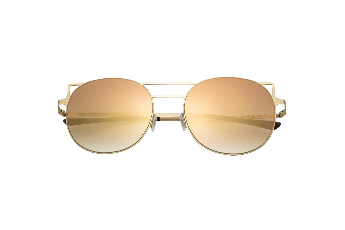 Sunglasses Kyme Kiki c.01 shiny gold flash gold 54 18 140 new