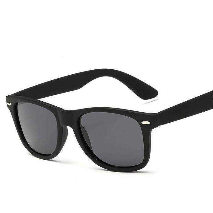 NIFG Gafas de sol polarizadas Gafas de sol retro coloridas clásicas ... 280037b0f329