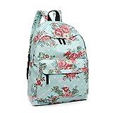Best Backpack For Teenage Girls - Miss Lulu School Backpacks Canvas Bookbag Cute Printed Review