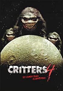 Critters 4: They're Invading Your Space Movie Poster (27 x 40 Inches - 69cm x 102cm) (1991) Argentine -(Don Keith Opper)(Terrence Mann)(Paul Whitthorne)(Anders Hove)(Angela Bassett)(Brad Dourif) from MG Poster