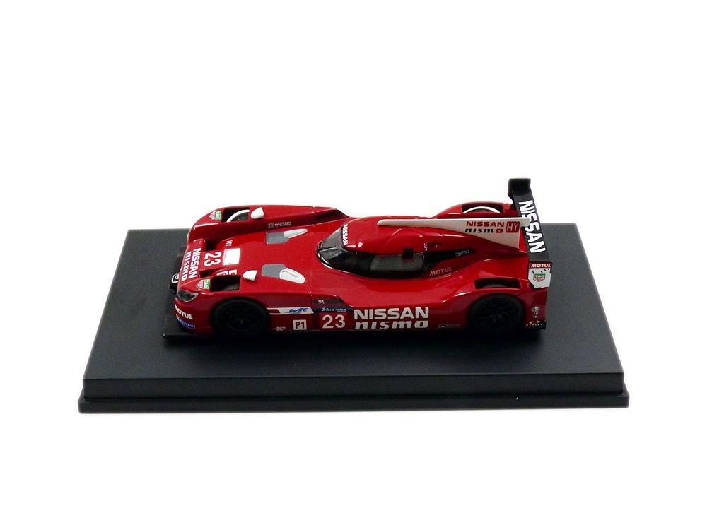 Spark Y093 Nissan GT-R LM LMP1 – Le Mans 2015 – Echelle 1 64, Rot Weiß