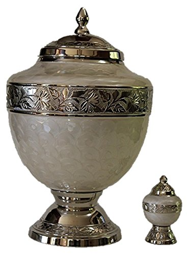 Adult Gorgeous Funeral Cremation Urn with keepsake