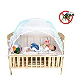 Baby Crib Tent for Bed, Portable Mosquito Net for Toddler...