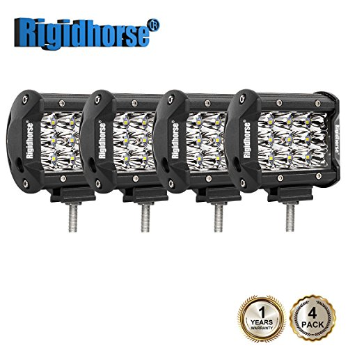 Rigidhorse Triple Row Led Light Bar 4 pcs 4