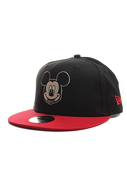 New Era Mickey Mouse Hero Essential 9fifty 950 Youth Snapback Cap Kids  Kinder Grösse  Amazon.es  Ropa y accesorios e915774033b