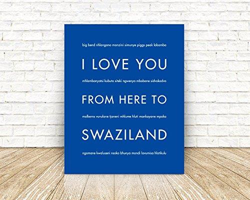 swaziland-africa-travel-art-print