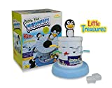 Little Treasures Penguin Ice Game, Fun Challenging Kids Game Help Save the Penguin by Taking Turns Digging Out the Ice