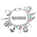 Percy Jackson and the Olympians Book Movie Theme Multi Charms Jewelry Bracelets Charm by Family Brands