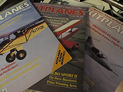 Kitplanes March 1985 December 1985 November 1985, including Prescott Pusher, Oshkosh 85, Canadian Seawind, Acro Sport II Aircraft Spruce Kitfox Mini-bushplane and more