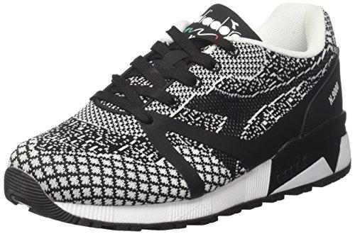 nero Gymnastique Chaussures Hommes Mm C0641 Diadora N9000 Evo Bianco Noir wqOwrT60