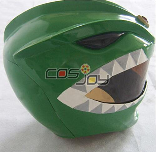 Power Rangers Green Ranger's Helmet Resin Cosplay Prop (Power Rangers Helmet)