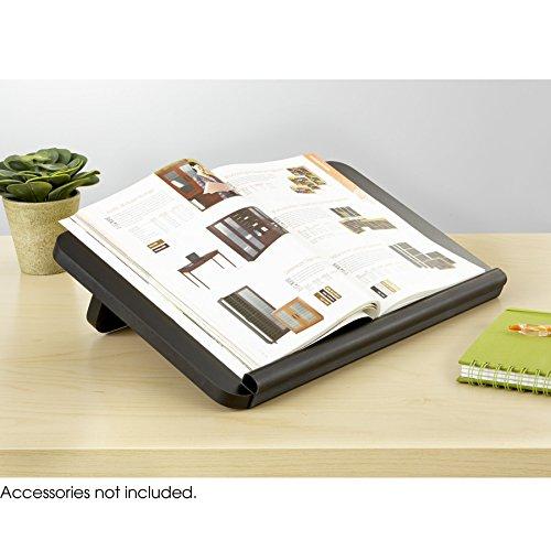 Ergo-Comfort® Read/Write Copy Holder, Black, (Qty. 6) (Ergo Copyholder Safco Comfort)
