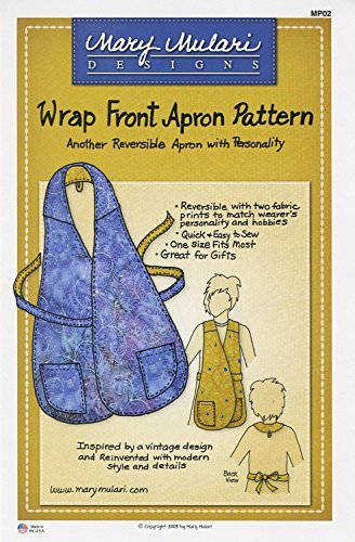 Wrap Front Apron Pattern by Mary Mulari Designs ()