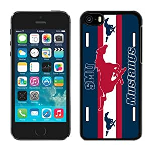 Iphone 5c Case Ncaa AAC American Athletic Conference SMU Mustangs 1 Pensonalized Phone Covers Apple Phone Cases