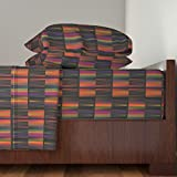 Roostery African 4pc Sheet Set The Vibrance Of Africa by Charldia Queen Sheet Set made with
