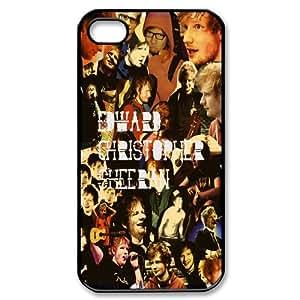 Unique Design -ZE-MIN PHONE CASE For Iphone 4 4S case cover -Famous Singer Ed Sheeran Pattern 13