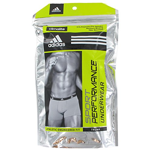 adidas Men's Sport Performance ClimaLite Trunk, Pack of Two