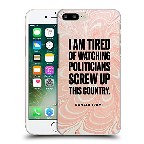 Super Galaxy Coque de Protection TPU Silicone Case pour // Q04080556 Le président Donald Trump // Apple iPhone 7 PLUS