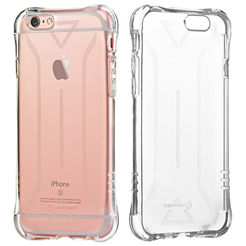 iPhone 6s Plus Case, New Trent Trenti 6L Transparent Case for the Apple iPhone 6s Plus and iPhone 6 Plus with 5.5 inch Screen only [All Clear] NOT Compatible with the iPhone 6s 6 4.7 Inch Screen