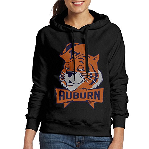 FUOALF Women's Pullover Auburn University Hoodie Sweatshirts Black - Is Low A What Tide