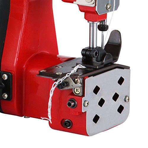 Amazon.com: Happybuy Bag Closing Machine 110V Portable Sewing Machine for Bag Closer Stitcher Sealing Machine (Red Bag Closing Machine)