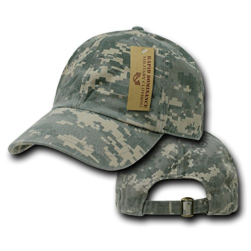 Relaxed Cotton Universal Digital Camo 6 Panel Vintage Washed Polo Cap - Universal Digital