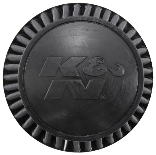 K&N RU-3101HBK Universal Clamp-On Air Filter: Round Tapered; 6 in (152 mm) Flange ID; 7.5 in (191 mm) Height; 7.5 in (191 mm) Base; 5.25 in (133 mm) Top