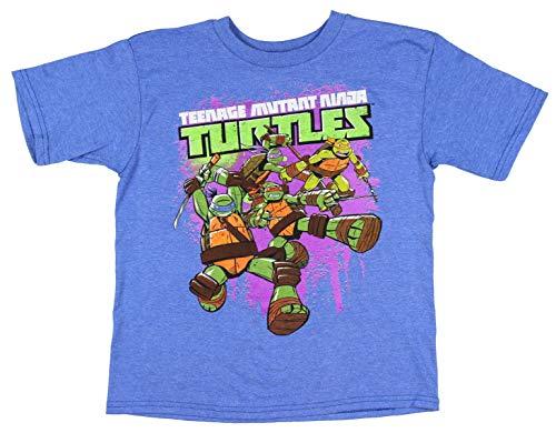 TMNT Teenage Mutant Ninja Turtles Boys Short Sleeve Shirt XX-Large (18) -