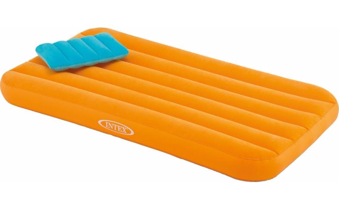 Intex Cozy Kidz Inflatable Airbed (Orange)