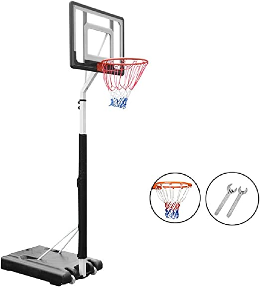 Canasta de baloncesto YXX Soporte de Sistema portátil de aro de ...