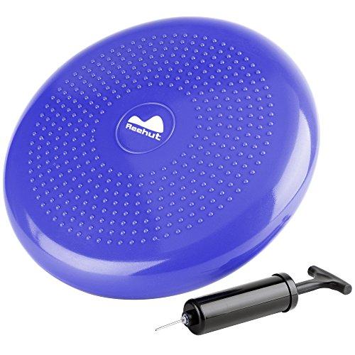 reehut-stability-balance-disc-trainer-w-free-9-page-ebook-13-diameter-wobble-cushion-w-air-pump-for-