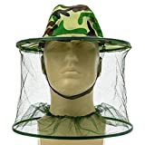Mosquito Head Mesh Net and Hat or Beekeeping Protection