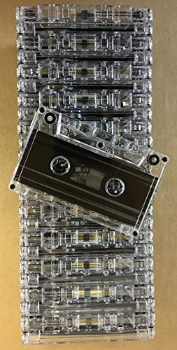 25pk. - C-47 NRS HIGH ENERGY 47min. Cassettes-Blank Bulk, Normal Bias CLEAR