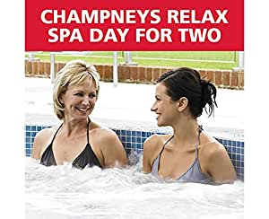Rojo de letra días Champneys Relax Spa Day For 2