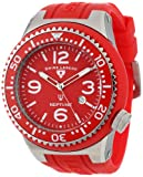 Swiss Legend Men's 21818S-C-OSU Neptune Red Dial Red Silicone Watch, Watch Central