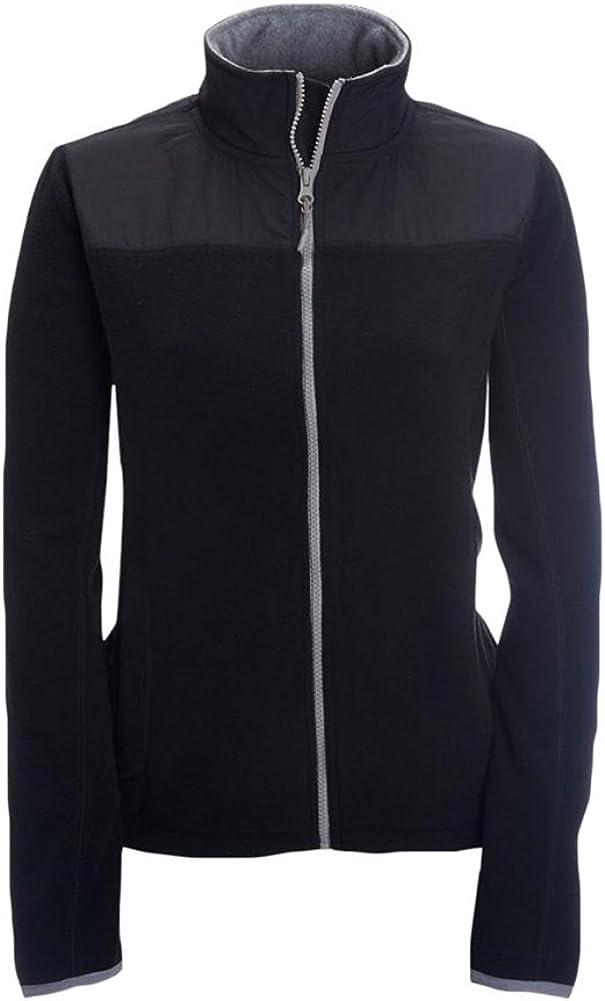 Black Aeropostale Womens FZ Fleece Jacket Large