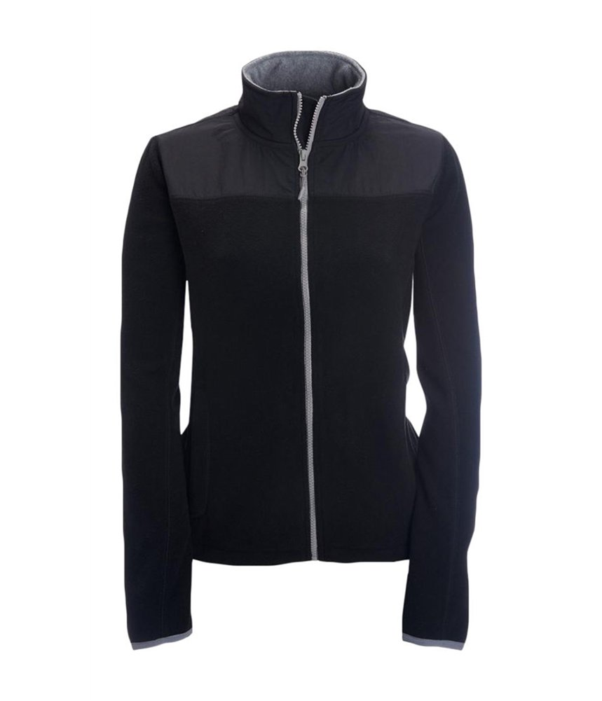 Aeropostale Womens FZ Fleece Jacket Black M - Juniors