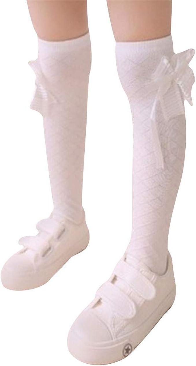 Chinashow - Calcetines largos para niña, diseño de dibujos ...