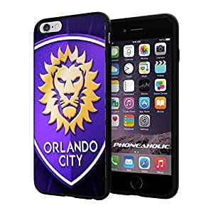 diy zhengMLS Orlando City soccer FC Logo , Cool Ipod Touch 4 4th Smartphone Case Cover Collector iphone TPU Rubber Case Black