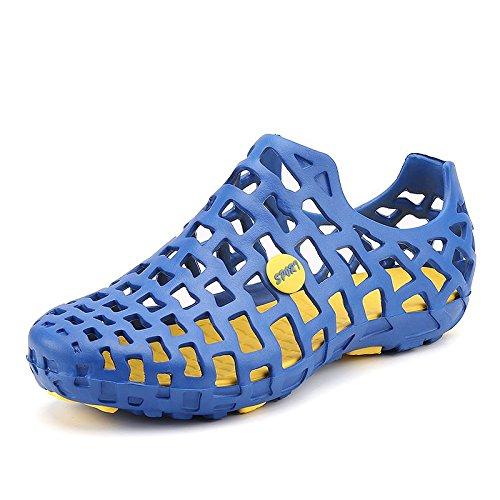 Xing Lin Sandalias De Hombre Cueva De Verano Zapatos 36 Beach 37 Hombres Baño Baño Plástico El Plástico Zapatos Zapatos Zapatillas Sandalias blue