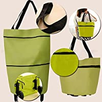 Kicode Oxford Fabric Foldable Travel Portable Shopping Bag