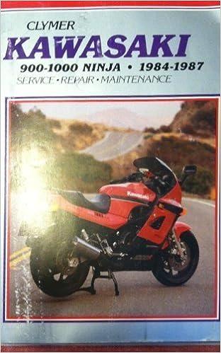 Kawasaki 900/1000 Ninja, 1984-1987/Cat M453 (Clymer ...