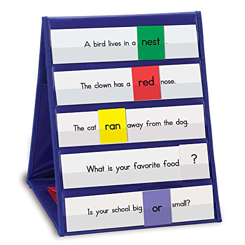 Learning Resources Tabletop Pocket Chart, Classroom Tool