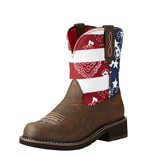 ARIAT Womens Heritage Fatbaby 8 B Toasted Brown Glory