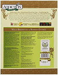 Addiction Wild Brushtail & Berries Grain Free Dehydrated Cat Food, 2 lb.