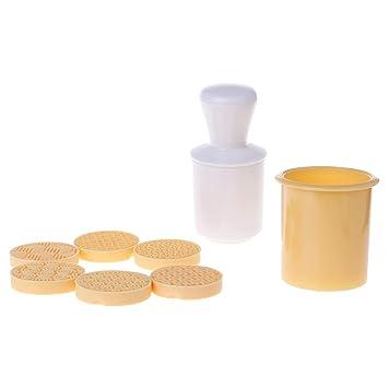 JENOR 6 piezas de sellos de galletas de la suerte en nube chocolate molde para galletas caseras: Amazon.es: Hogar