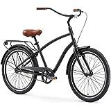 "sixthreezero EVRYjourney Men's Hybrid Cruiser Bicycle, 26"" Wheels/ 19"" Frame"