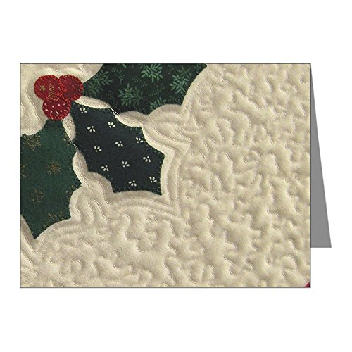 CafePress - Holly Berry - Blank Note Cards (Pack of 20) Glossy
